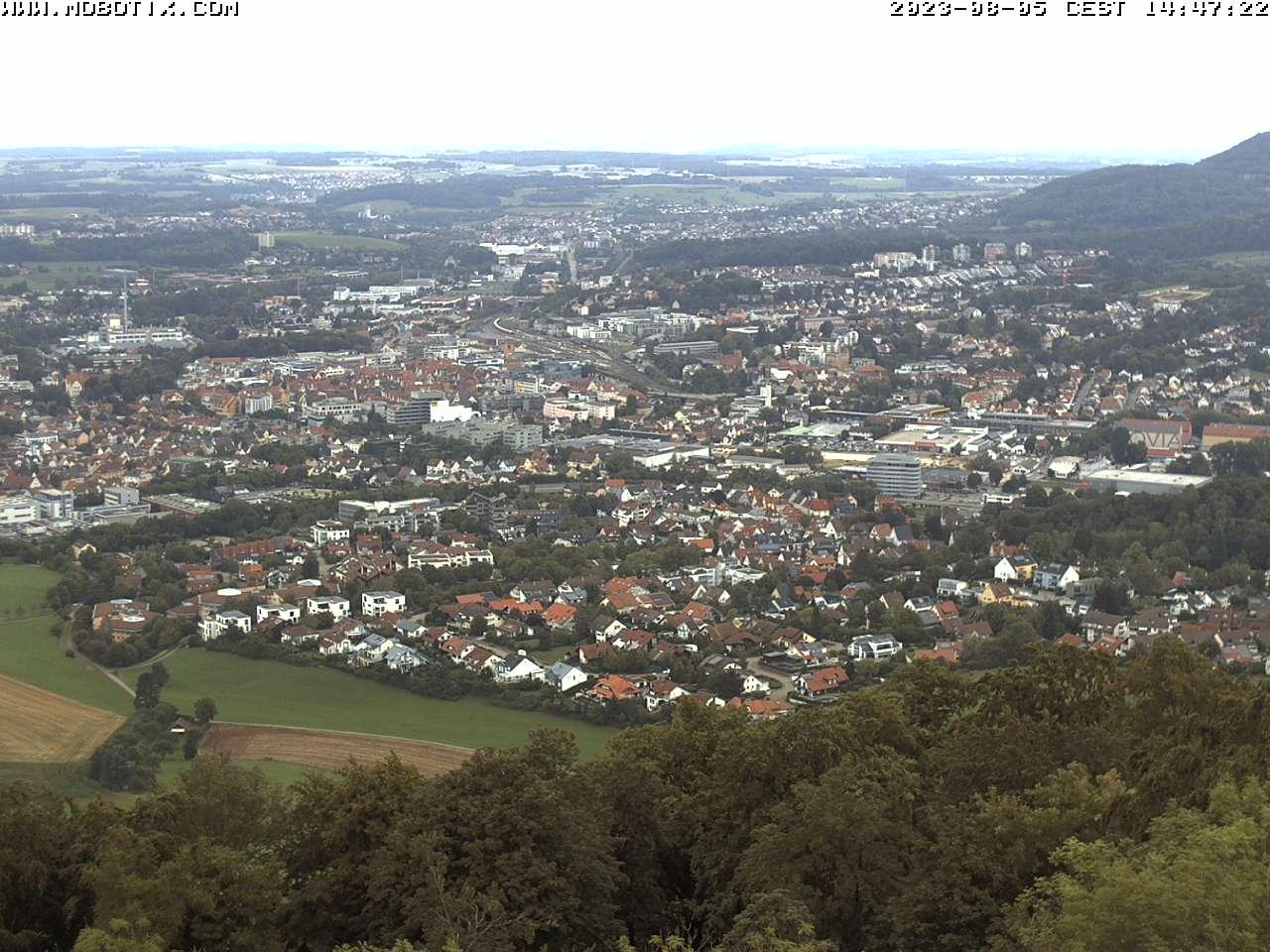 Webcam Skigebiet Aalen - Ostalb Panorama - Schw�bische Alb
