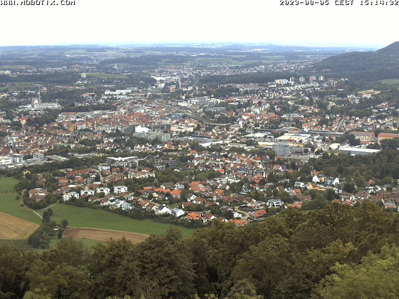 Webcam Skigebiet Aalen - Hirtenteich Panorama - Schwäbische Alb