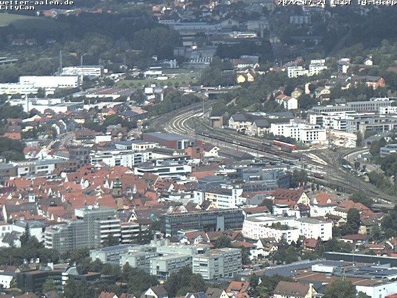 Webcam Skigebiet Aalen - Ostalb Panorama - Schwäbische Alb
